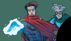 Billy Kaplan and Tommy Shepherd, Young Avengers, House of M #4 (2015)