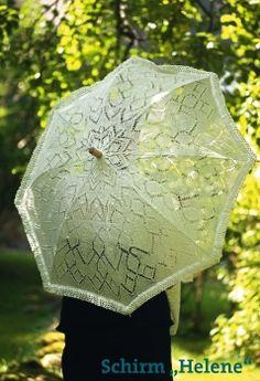 Handarbeitstipp: gestrickter Sonnenschirm Free Knitting, Knitting Patterns, Deco, Umbrellas, Sun, Shades, Knit Patterns, Knitting And Crocheting, Threading