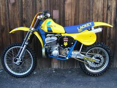 1983- Suzuki RH500 Works Bike of Brad Lackey