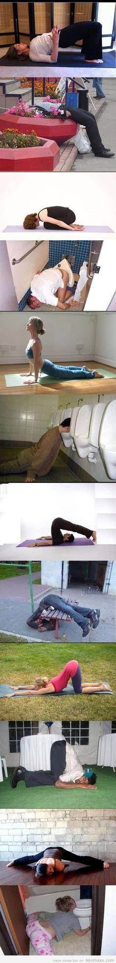 Yoga vs Booze lol!
