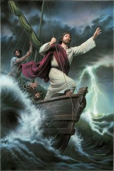 Jesus Calming the Storm: 10+ Comforting Images — Altus Fine Art
