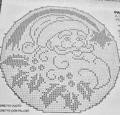 Sopelek - Her Crochet Crochet Snowflake Pattern, Crochet Snowflakes, Crochet Motif, Crochet Doilies, Crochet Christmas Ornaments, Christmas Crochet Patterns, Christmas Embroidery, Filet Crochet Charts, Knitting Charts