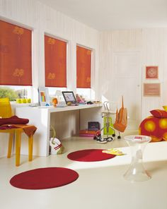 Luxaflex® Designer Roller Blinds. Express your style with an individual touch. #Luxaflex #RolllerBlinds #Blinds