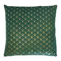 Savannah Green Filled Cushion | Harry Corry Limited Harry Corry, Velvet Cushions, Shades Of Green, Savannah Chat, Boards, Fashion Design, Space, Ideas, Planks