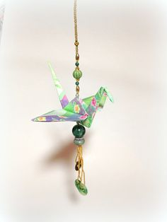 Hey, I found this really awesome Etsy listing at https://www.etsy.com/listing/238191800/christmas-origami-crane-christmas