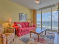 Beach Club 1102B Fort Morgan Gulf Front Vacation Condo Rental.