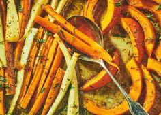 Ofengemüse mit Honig   ZEITmagazin Ratatouille, Wine Recipes, Gluten Free Recipes, Pickles, Carrots, Salads, Yummy Food, Vegetables, Dinner