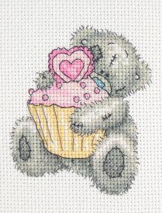 Cupcake - Tatty Teddy Cross Stitch Kit