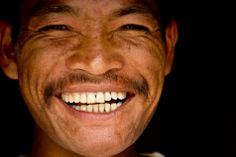Happy local man with a big smile - Bhaktapur, Nepal