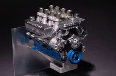 Ford FE V8 427 sideoiler engine scrcatch-built by Michael Phillipp http://hotrodenginetech.com/wp-content/uploads/2013/02/FE1_1000.jpg