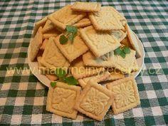 Domácí sušenky Crinkles, Christmas Cookies, Goodies, Food And Drink, Dairy, Bread, Cooking, Healthy, Sweet