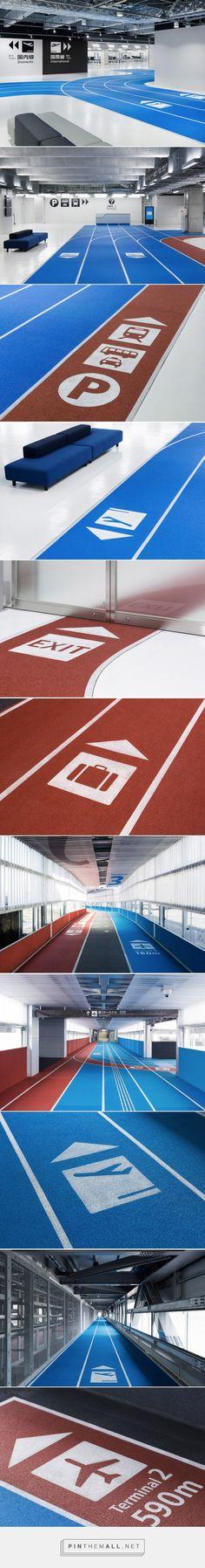 Narita Airport Wayfinding System by Nikken Sekkei