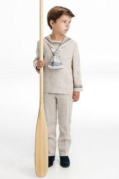 One Varon Costume Marin, Communion, Boys Pajamas, 4 Kids, Wedding Wear, Boy Fashion, Baby Boy, Normcore, Kids Fashion