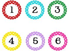 FREE download of polka dot numbers from technology rocks. seriously. She has 1 to 100 or by fives or tens.