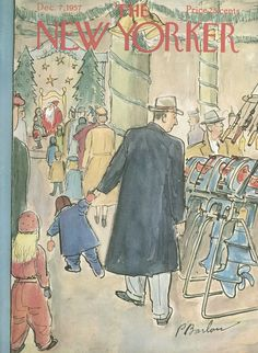 The New Yorker - Saturday, December 7, 1957 - Issue # 1712 - Vol. 33 - N° 42 - Cover by : Perry Barlow