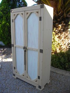"""(RS 35) Linen / Clothing Cupboard.  Dimensions L 900 x W 450 x H 1840 mm. 4 Racks Inside! Price R4587. More exclusive furniture & decor available! Can be ordered in dimensions of your choice and in """"rustic"""", """"whitewash"""" or """"shabby chic"""" finishes! Send e-mail to humanr@telkomsa.net or call 0218632371 / 0835143382.  FB: www.facebook.com/..."""