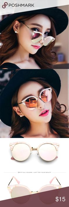 Light Pink Sunglasses Super Cute! Color Light Pink. Brand new and good quality. UV Protection. No trade. Accessories Sunglasses