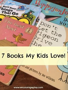 7 Books My Kids Love from Encourage Play