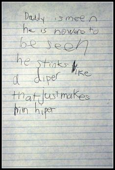 Poetry | 25 Funny Notes Written By Kids