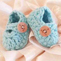 Spring Baby Shower? Gift these adorable baby booties! Several delicious colors, and ships next day! At only $12...you won't have to decide on color!