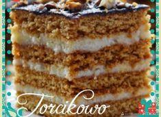 Miodownik - przepis ze Smaker.pl Vegan Ramen, Momofuku, Banana Nut Bread, Breakfast Menu, Polish Recipes, Homemade Cakes, Easter Recipes, Holiday Desserts, Cake Recipes