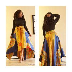 Beautiful skirt. ~Latest African Fashion, African Prints, African fashion styles, African clothing, Nigerian style, Ghanaian fashion, African women dresses, African Bags, African shoes, Nigerian fashion, Ankara, Kitenge, Aso okè, Kenté, brocade. ~DKK
