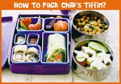 Good food has a direct effect on a child's mental and physical growth. Are you packing your child's tiffin box with nutritious food? Here is how you can ensure that you are packing healthy tiffin for your child.