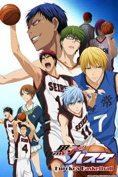 Kuroko's Basketball Full episodes streaming online for free. Great Sports anime even if you don't like sports!