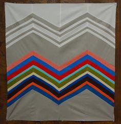 Missoni Inspired Quilt Tutorial