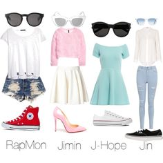 Bts ideal type outfit. I would wear the Jimin one ^_^