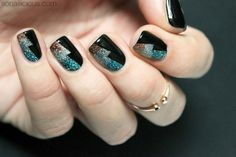 Sparkling New Year's Eve Nails [TUTORIAL]