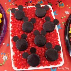 Cute-as-can-be Mickey Mouse cookies