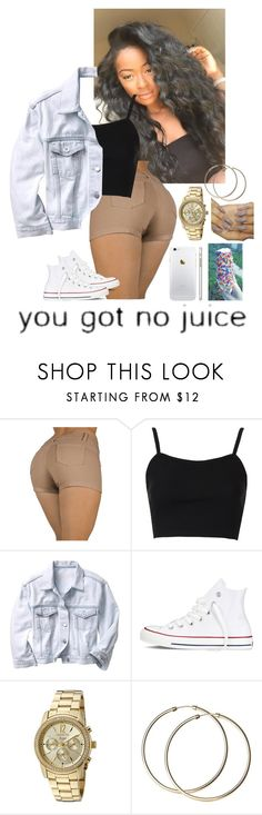 """""""2/20/16"""" by ashli-nr ❤ liked on Polyvore featuring Topshop, Gap, Converse, Invicta, women's clothing, women, female, woman, misses and juniors"""