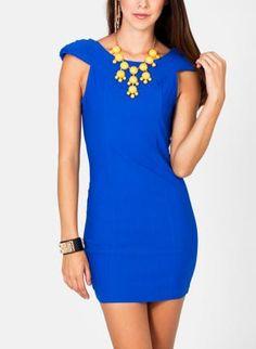Cobalt Blue Royal Dress Royal Ascot Ladies Day, Cobalt Blue Dress, Royal Blue Dresses, Pretty Dresses, Color Splash, What To Wear, Singing, Blues, Chic