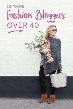 12 Amazing Over 40 Fashion Bloggers                              …