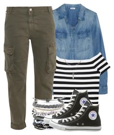 hey now. you're an all star. get your game on; go play. by aiyanaa on Polyvore featuring polyvore fashion style Splendid Alice + Olivia STELLA McCARTNEY Converse Domo Beads clothing