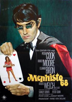 Bedazzled (Stanley Donen, 1968). German design by Bruno Rehak.