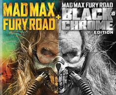 Mad Max High Octane Collection Announced with Black & Chrome Edition!