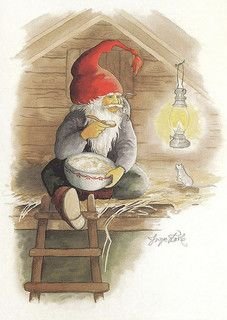 Trolls, gnomes and nisse Scandinavian Gnomes, Scandinavian Christmas, Christmas Gnome, Vintage Christmas, Norwegian Christmas, Elves And Fairies, Christmas Pictures, Mythical Creatures, Candyland