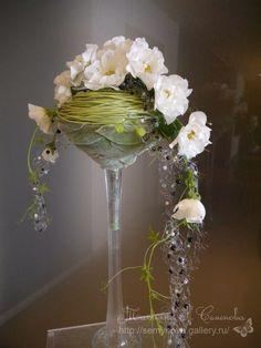 ru / Photo # 194 - flower - semynova - New Ideas Art Floral, Deco Floral, Floral Design, Orchid Arrangements, Artificial Flower Arrangements, Artificial Flowers, Fleur Design, Fake Plants Decor, Ikebana