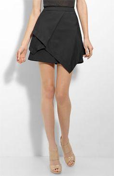 Alexander Wang Silk Twill Handkerchief Skirt