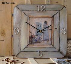 """Часы """"Окно в Прованс"""""""