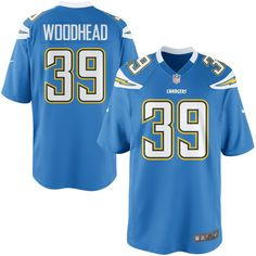 0fe54f940 Nike Danny Woodhead Los Angeles Chargers Youth Game Jersey - Powder Blue