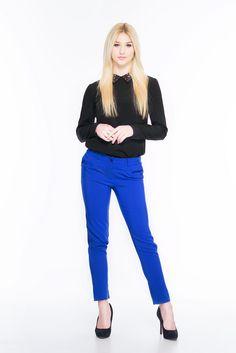 Spodnie rurki SL4007BL www.fajne-sukienki.pl Capri Pants, Fashion, Moda, Capri Trousers, Fashion Styles, Fashion Illustrations