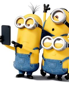 Minions selfie                                                                                                                                                                                 More