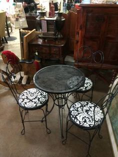 Metal Table And Chairs 169 Furniture Consignment AZ