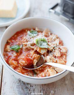 Chicken and Tomato Risotto
