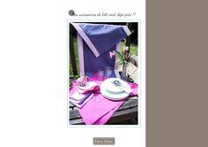 PAS A PAS TABLE ETE interactif4HD Blog Couture, Frou Frou, Table, Contemporary, Tables, Desk, Tabletop, Desks