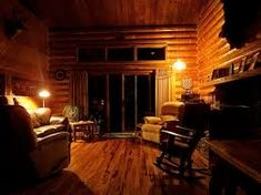Rustic cabin decorating can seem like an overwhelming task but don't let it get you down. Start small using rustic décor elements but plan big with an entire log cabin interior design laid out. Log Cabin Living, Log Cabin Kits, Log Cabin Homes, Cozy Living Rooms, Log Cabins, Tiny Cabins, Cabin Plans, Cabin Ideas, House Plans