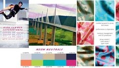 Color fashion forecast Spring Summer 2014 trend NEON NEUTRALS - Previsione colori Primavera Estate 2014 tendenza NEON NEUTRALS